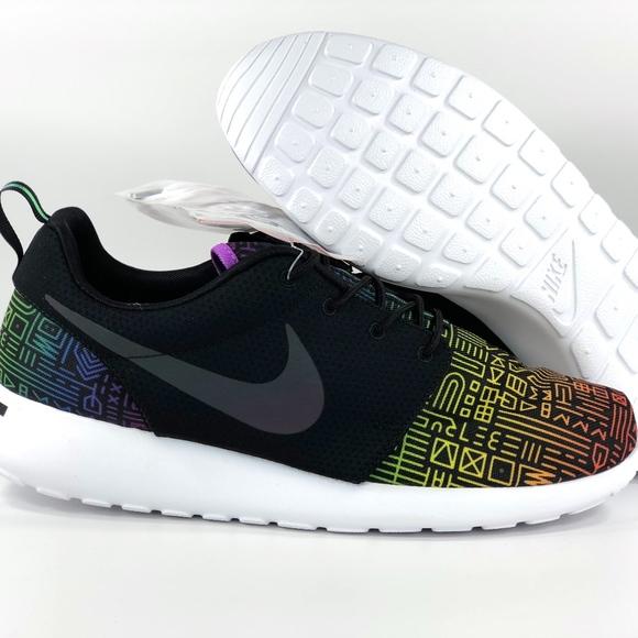 3174f2034e238 Nike Roshe One BT QS Be True LGBTQ Pride Black